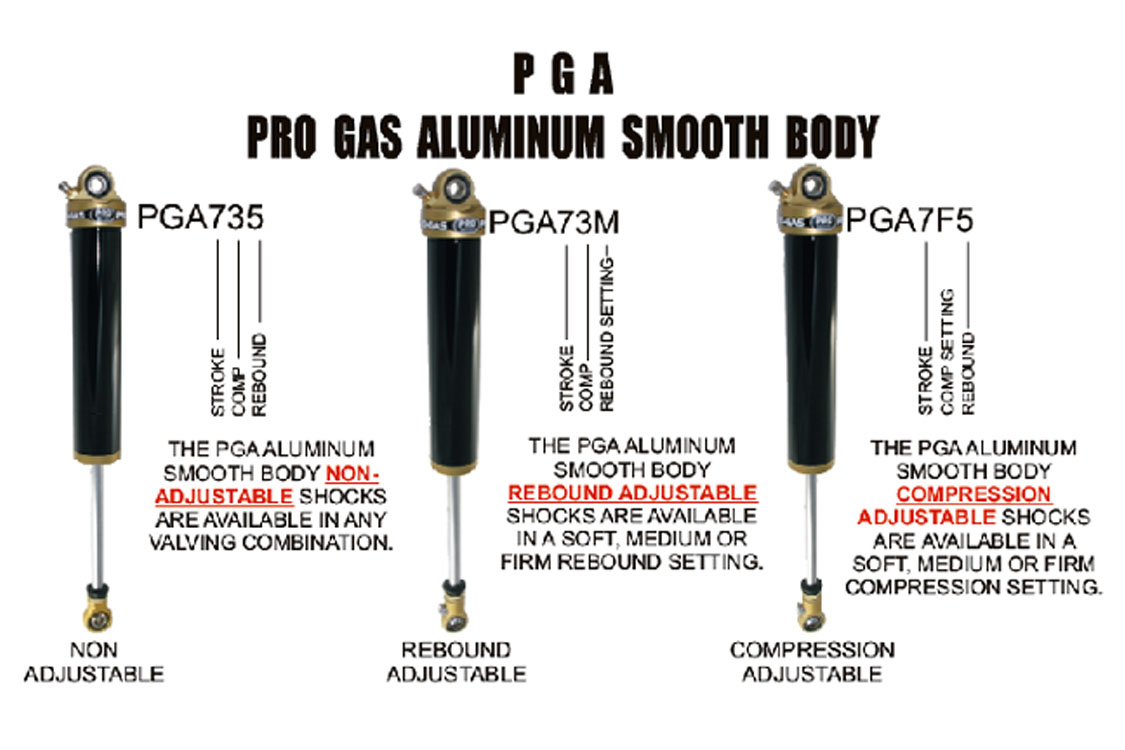 Pro Gas Aluminum Smooth Body